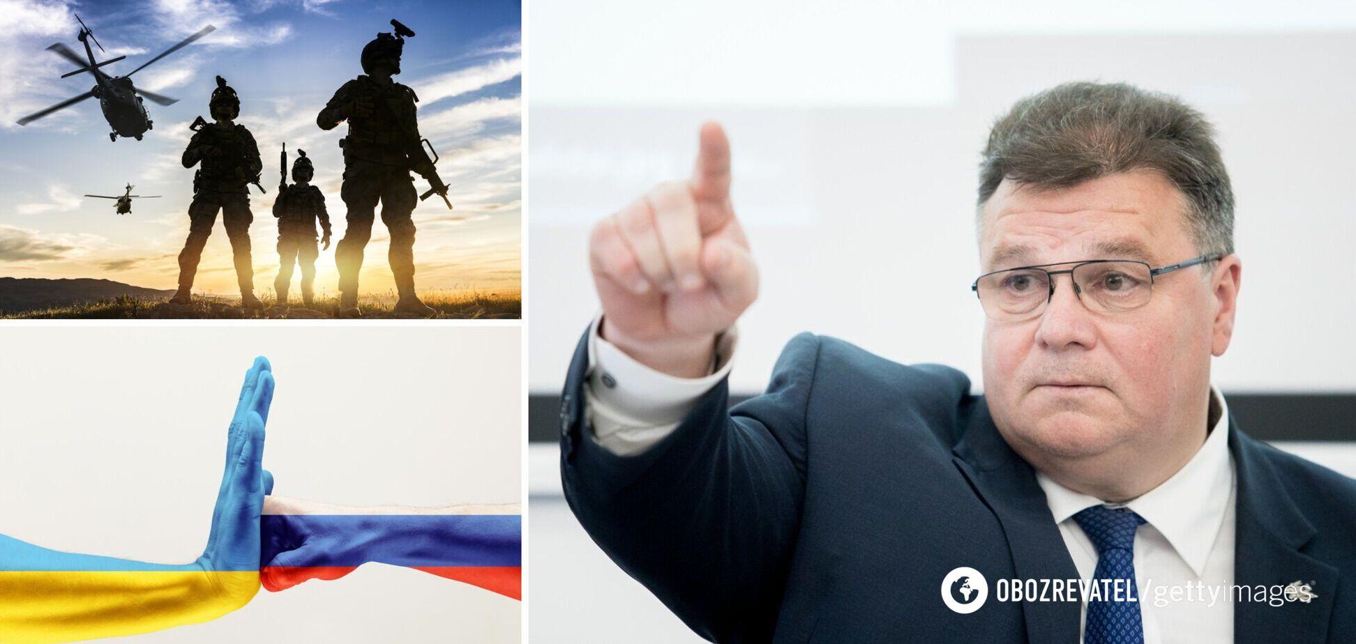 В Литве призвали Запад обеспечить вооруженную поддержку Украине