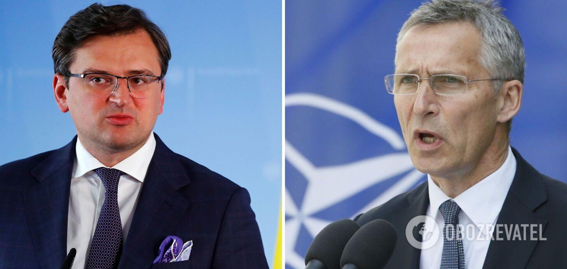 Кулеба зустрівся з генсеком НАТО та отримав потужну підтримку Альянсу: головні заяви