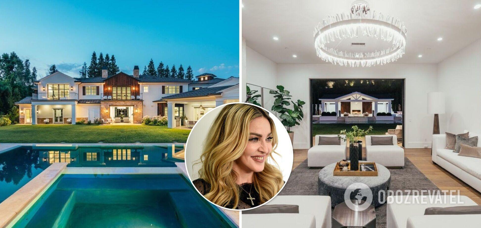 Мадонна купила особняк у певца The Weeknd за $19,3 млн. Фото