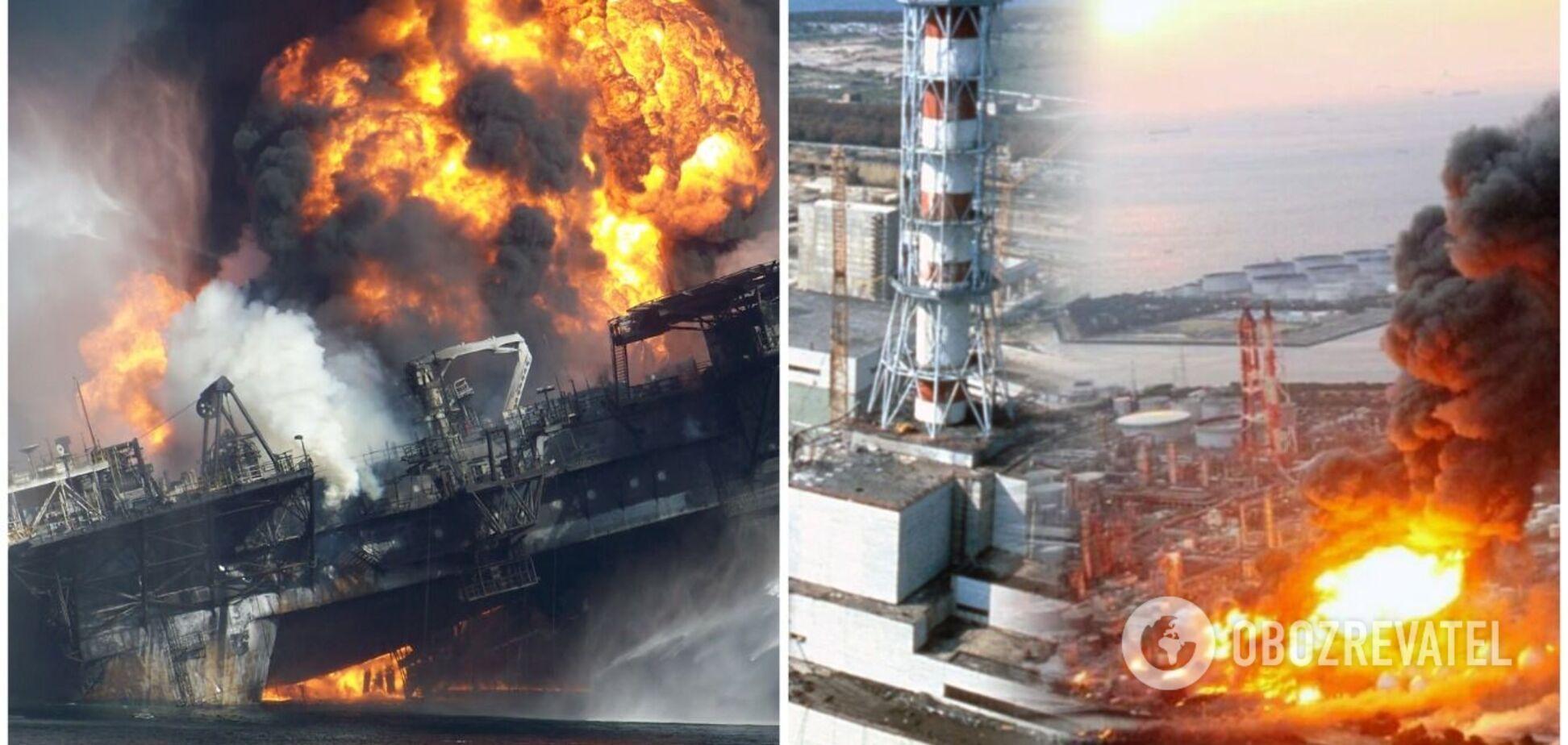 Чорнобильська катастрофа та інші аварії, які жахнули світ, у фото та відео