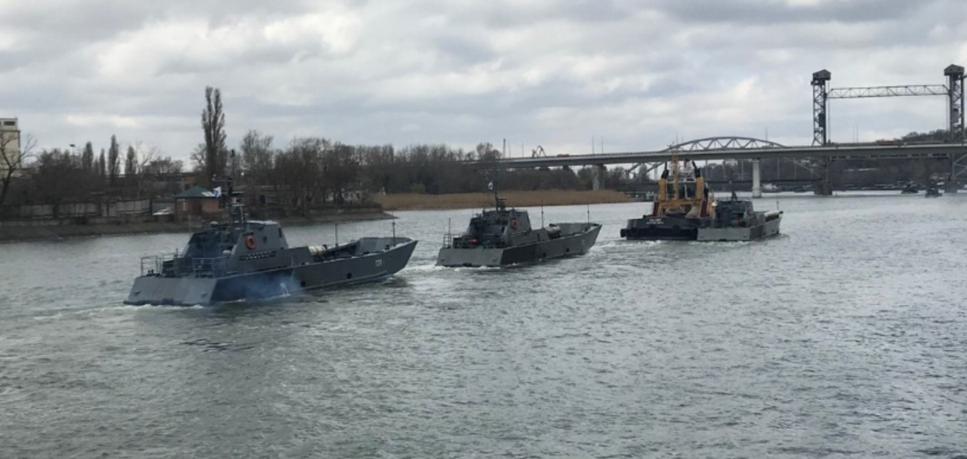Корабли Каспийской флотилии РФ