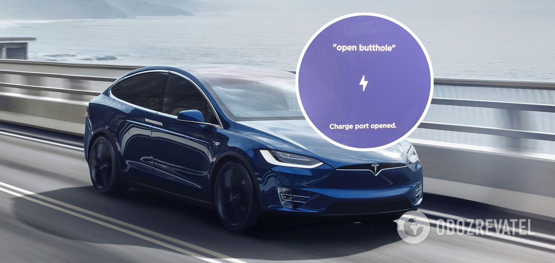Tesla відгукнулася на непристойну команду: люди із захопленням тестують її на відео