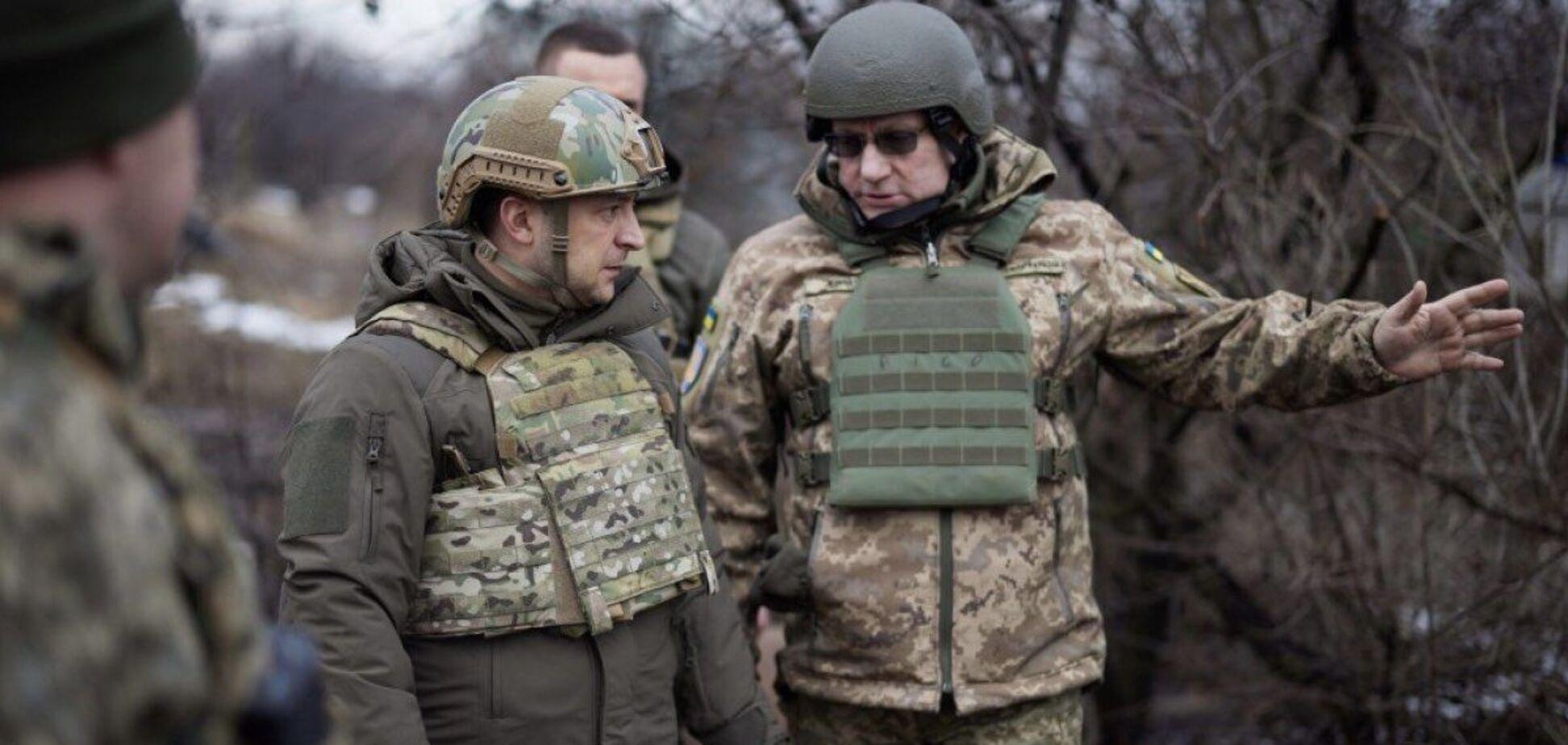 Зеленский – о российских войсках на границе: они хотят, чтобы мы боялись
