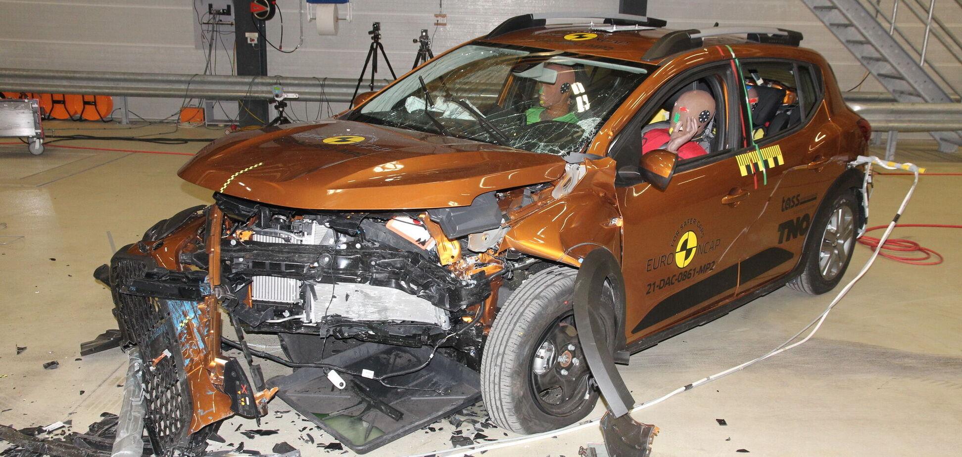 'Двойка' за безопасность: новые Sandero и Logan огорчили Euro NCAP