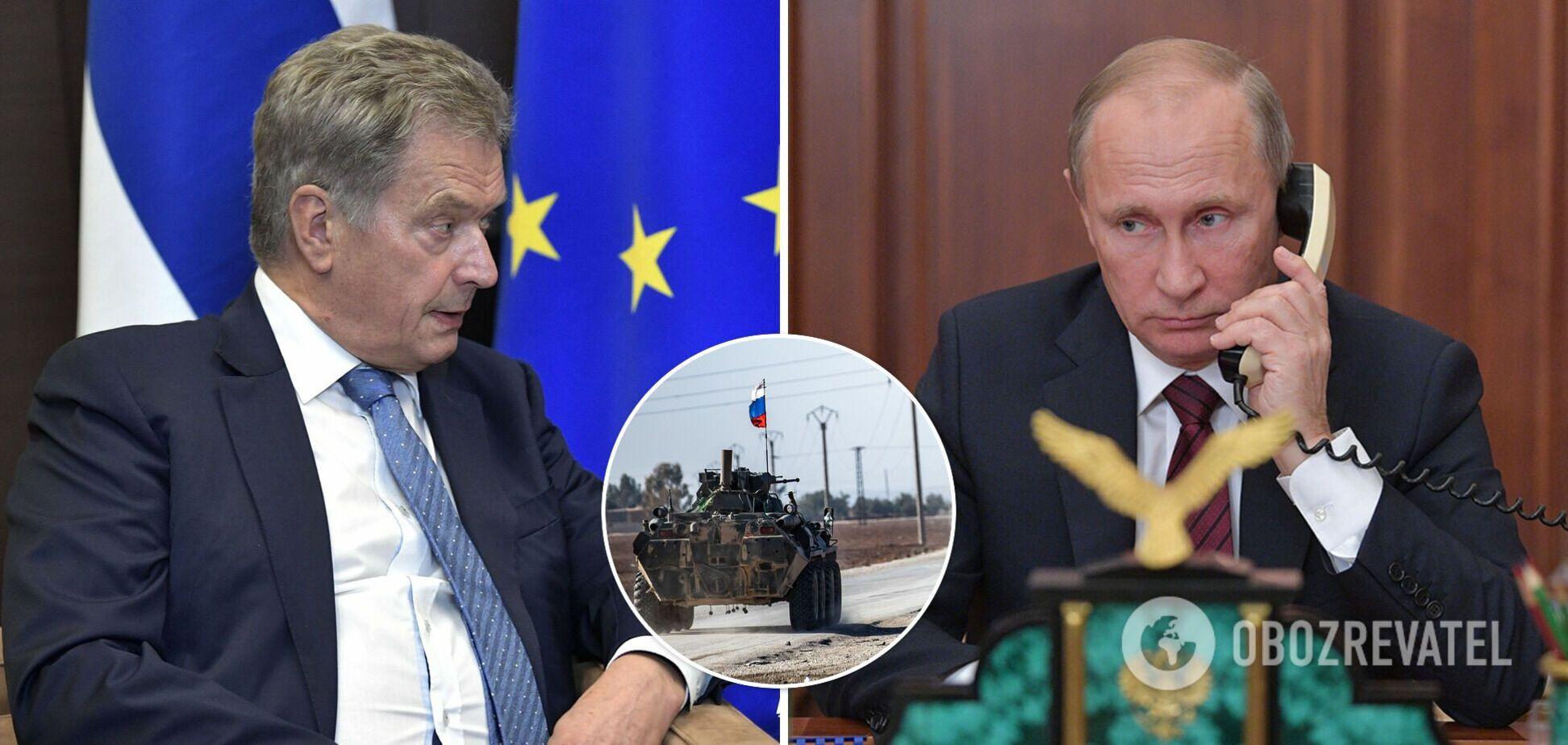 Президент Фінляндії заявив Путіну про стурбованість ситуацією в Україні