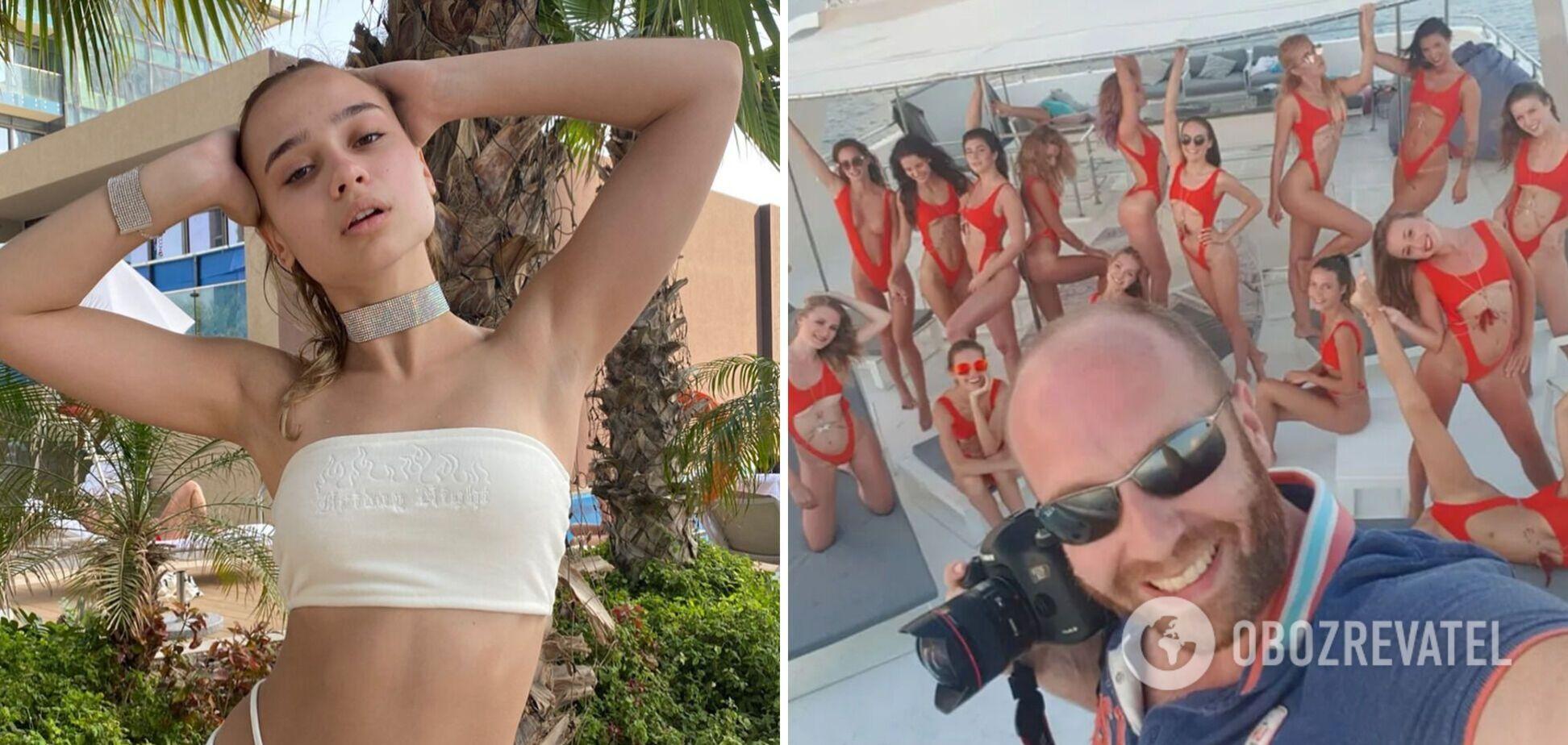 Украинка прокомментировала голую фотосессию в Дубае