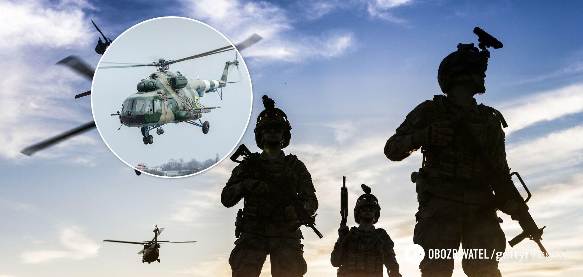 ЗСУ передали модернізований гелікоптер Мі-8МТ з протиракетним захистом. Фото