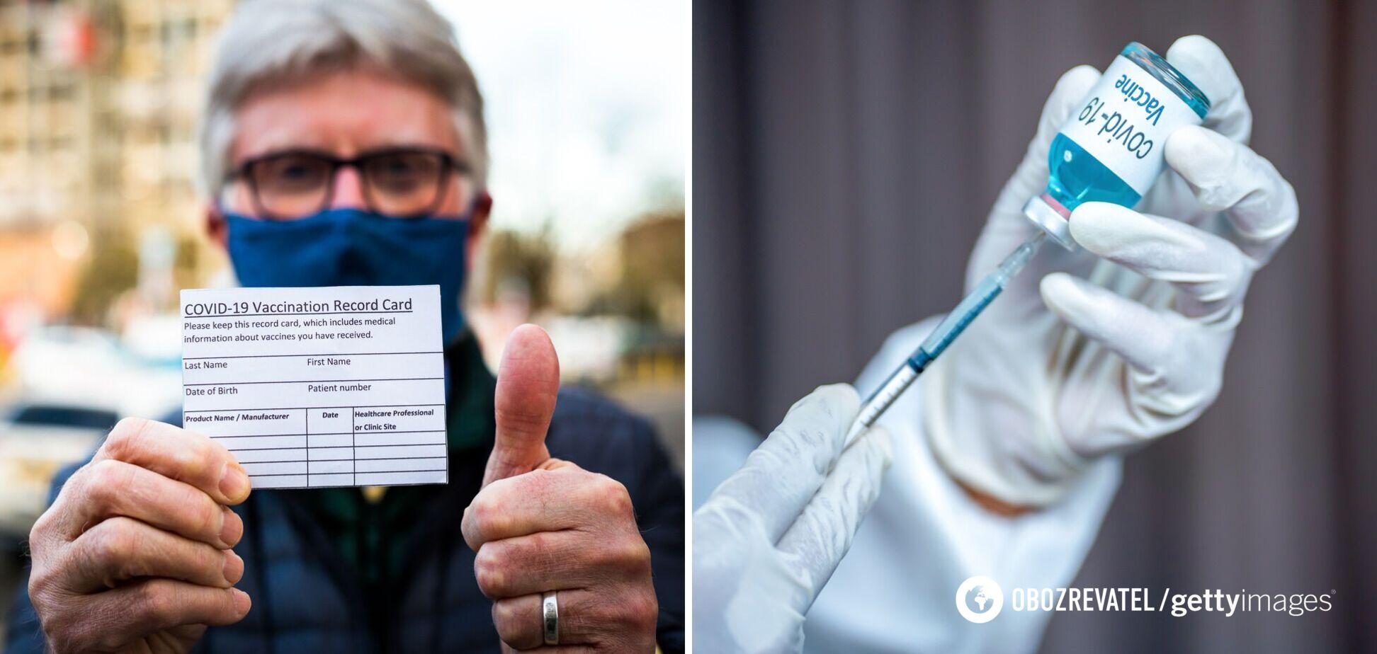 Вакцинація в Україні