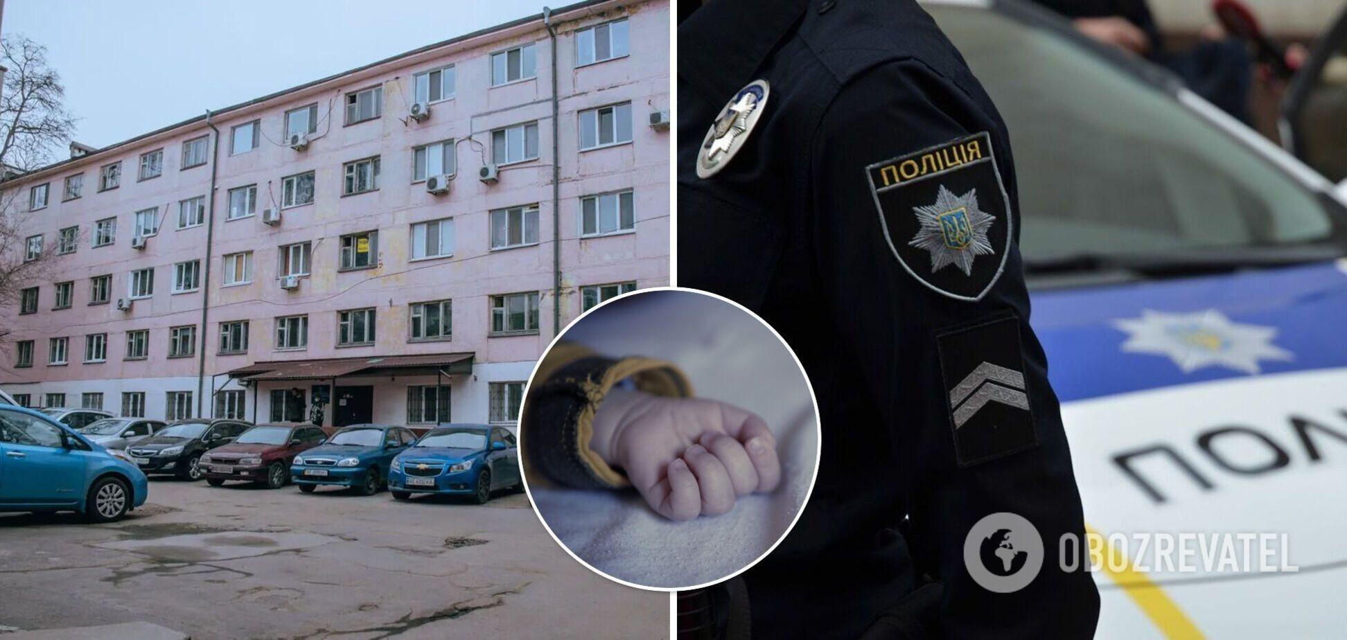 У младенца, найденного мертвым в Днепре, были признаки пневмонии