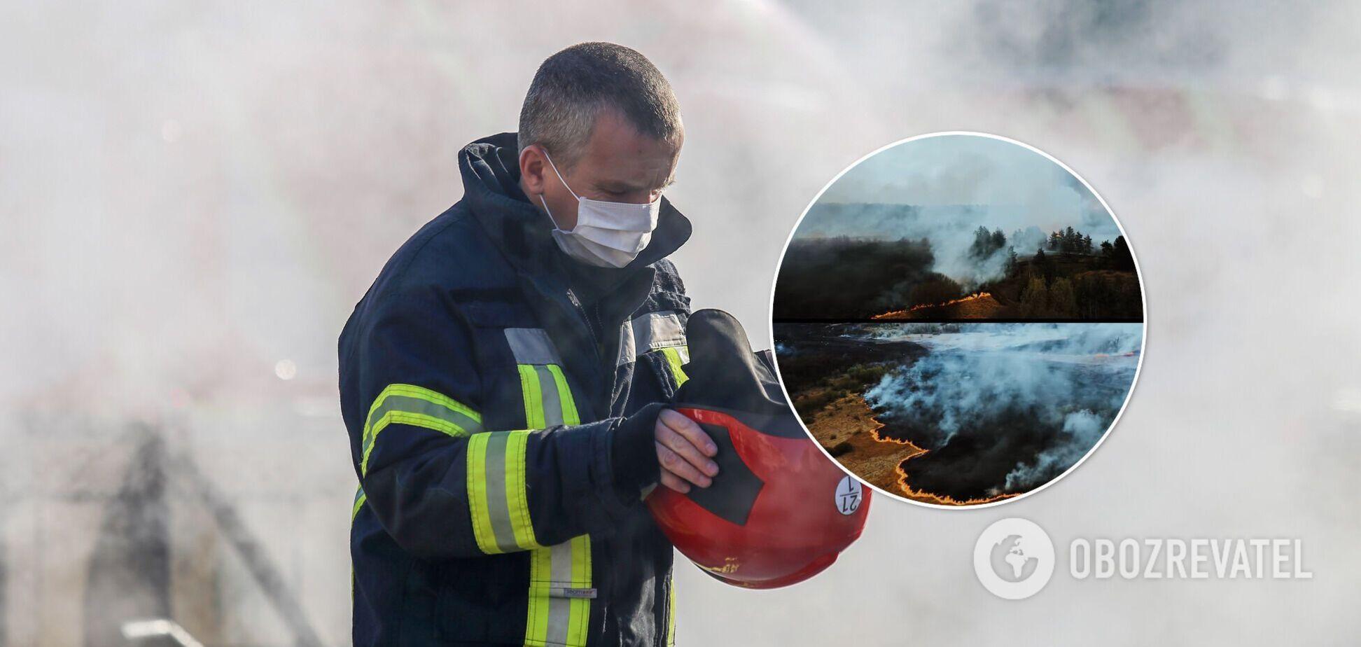 Пожарные постоянно фиксируют случаи подпала травяного настила