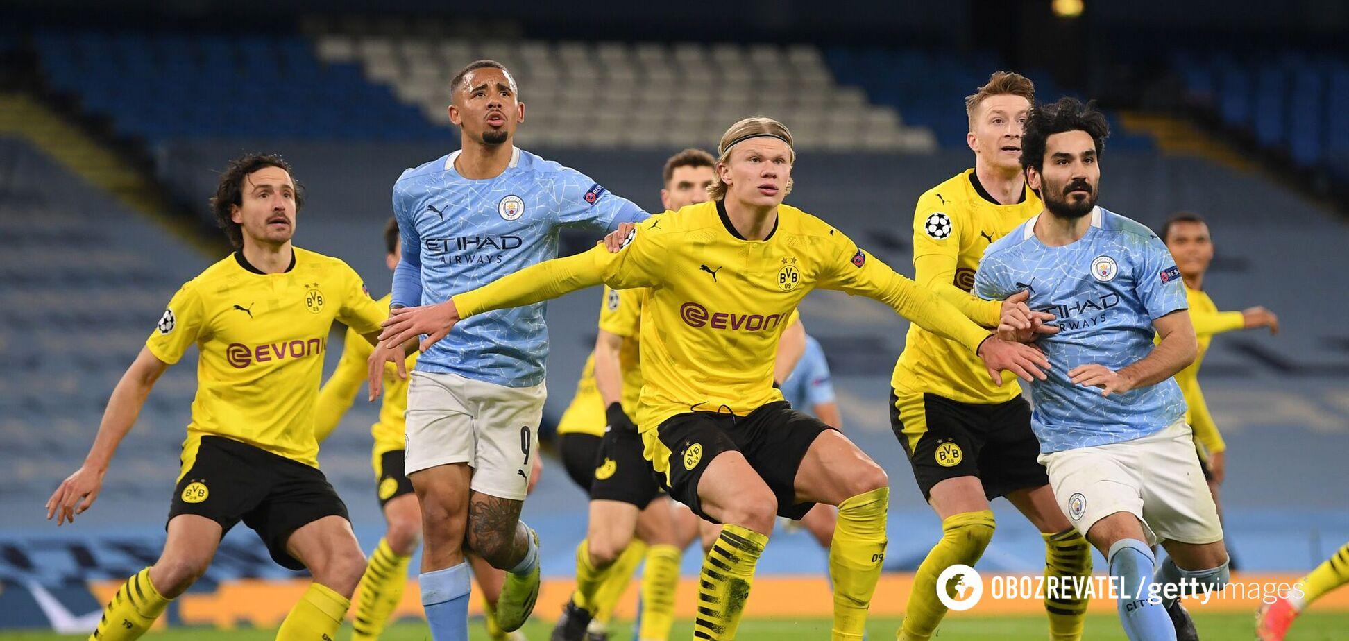 'Манчестер Сити' - 'Боруссия' Д
