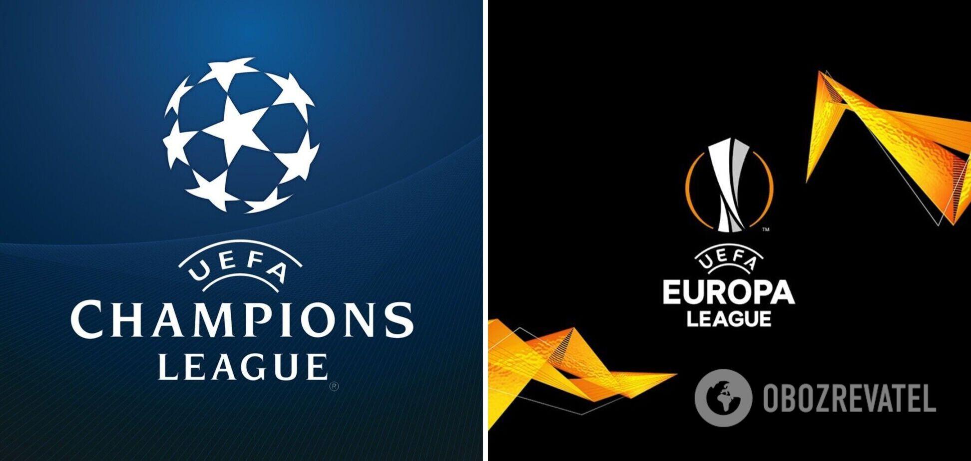 Лига чемпионов и Лига Европы выездные голы