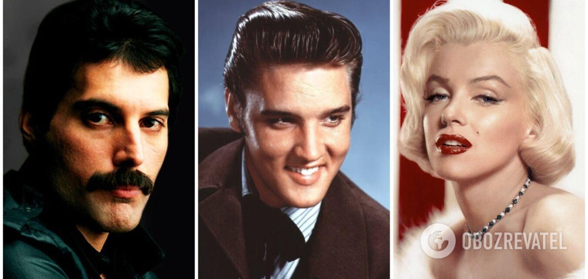 Як би виглядали зараз Елвіс Преслі, Мерилін Монро та інші знаменитості, які загинули молодими