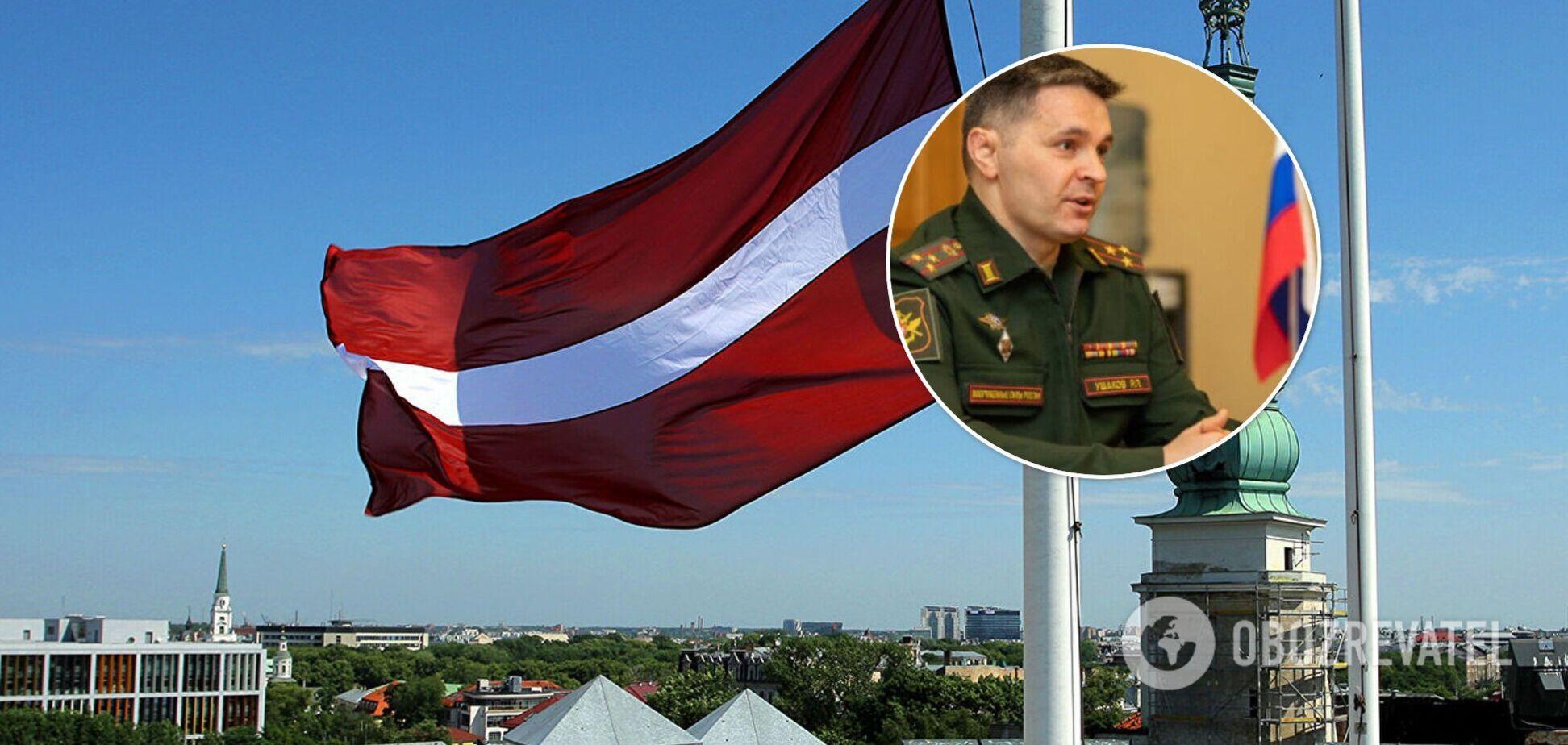 Скандал с Ушаковым в Латвии