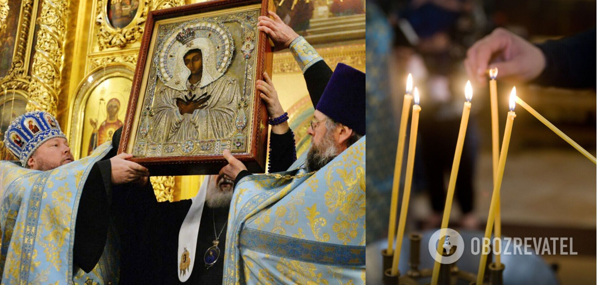 Похвала Пресвятої Богородиці відзначається в суботу п'ятого тижня Великого посту