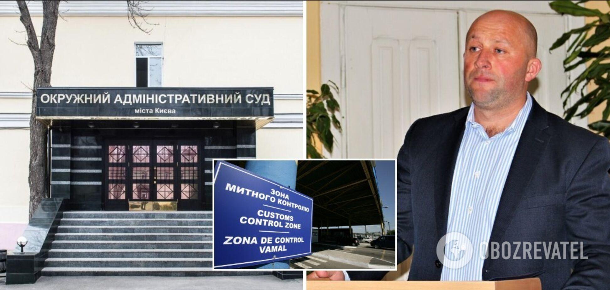 Цабак подав позов до Окружного адмінсуду Києва через своє відсторонення