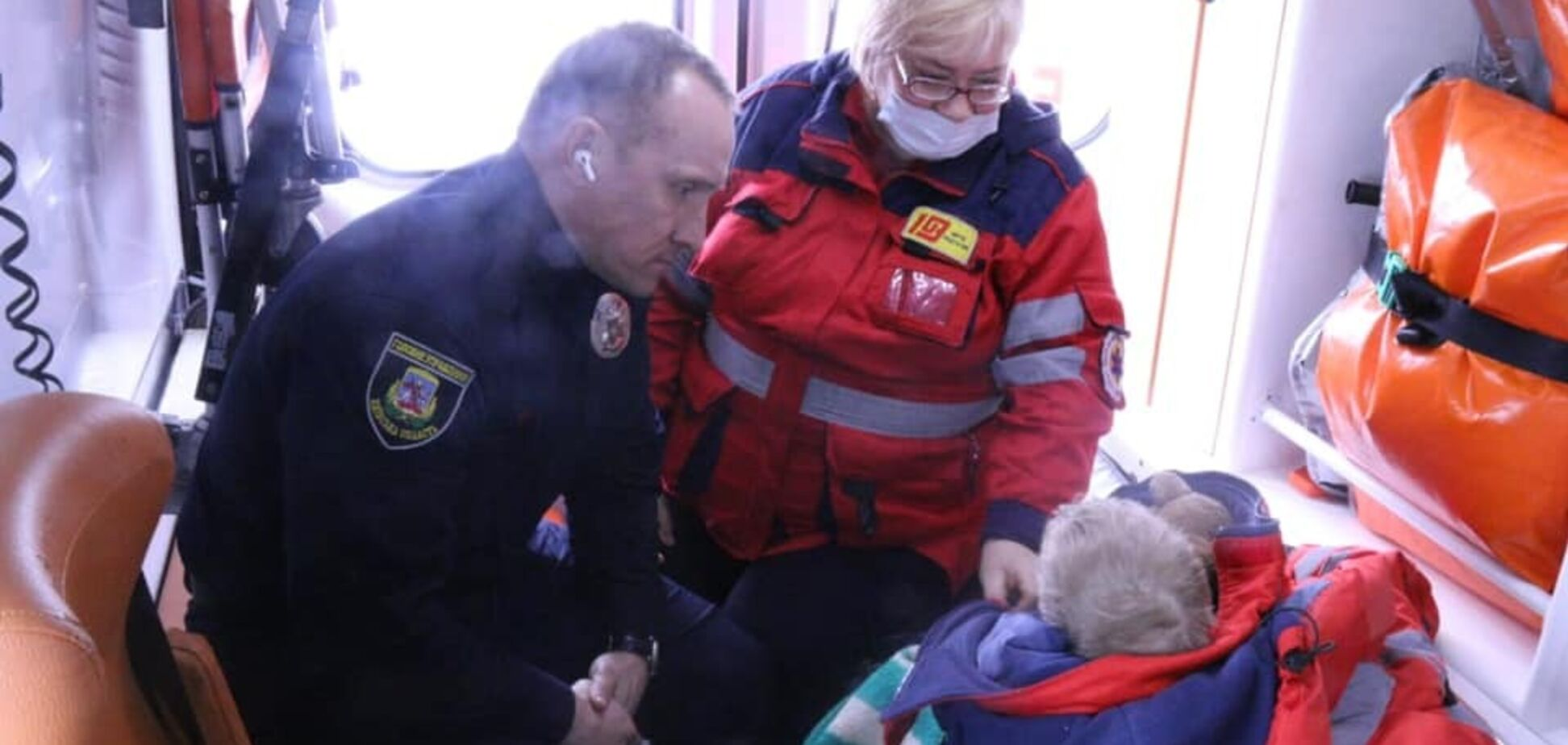 Найденного на Киевщине Богдана Униченко осмотрели врачи