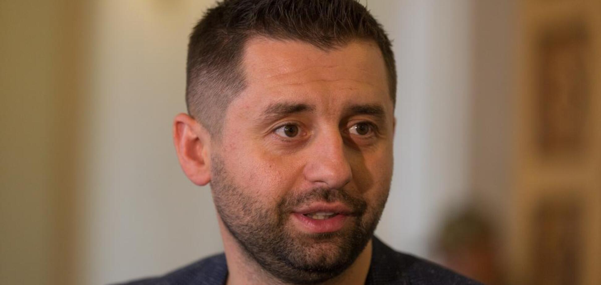 Арахамія розповів, чому на Україну погано впливає висвітлення агресії РФ
