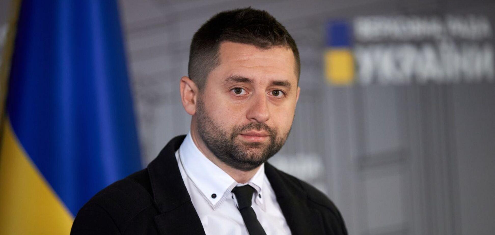 Арахамія заявив, що широке висвітлення агресії РФ погано впливає на Україну