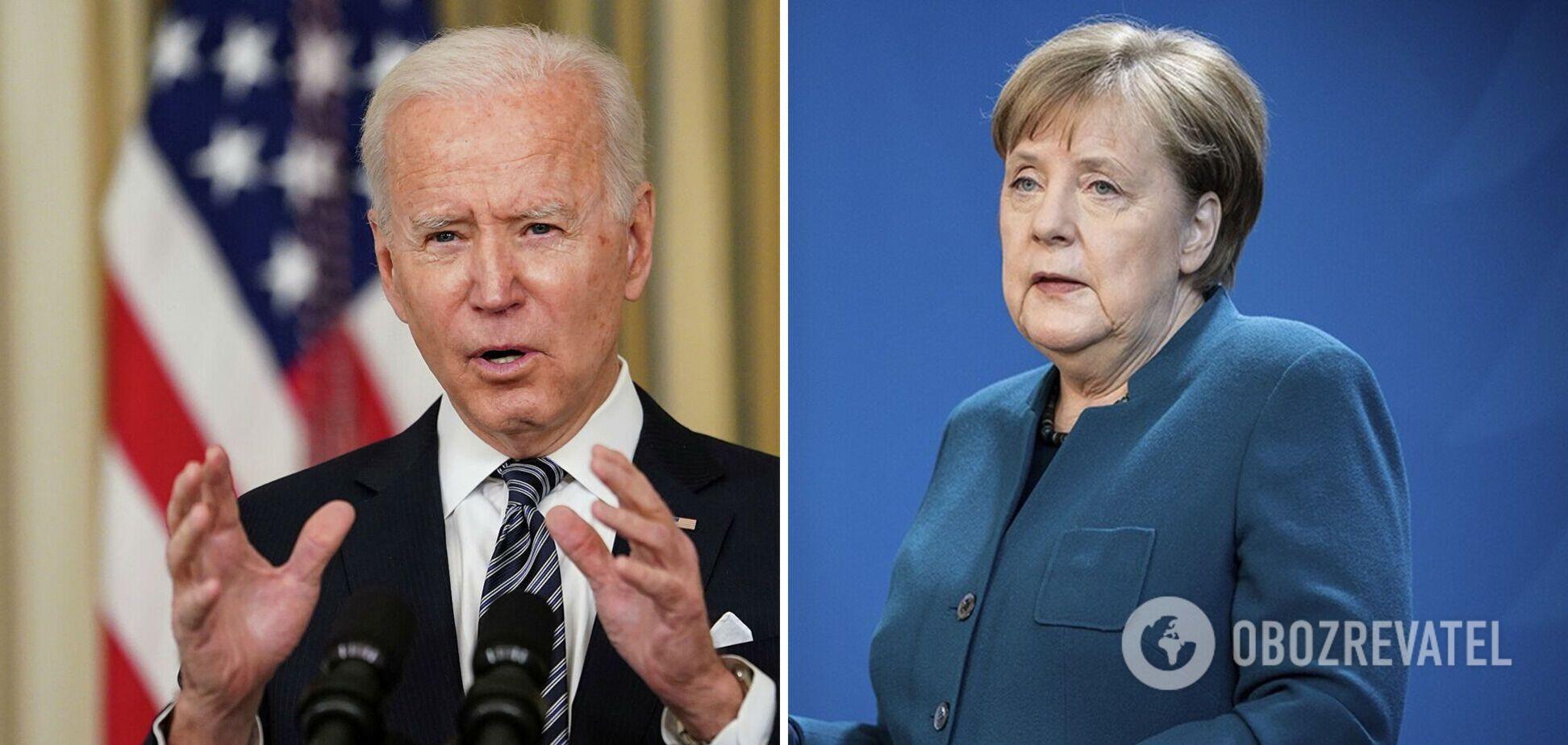 Байден і Меркель об'єдналися в підтримці України на тлі військових маневрів РФ
