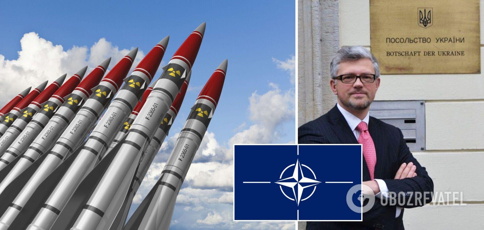 Украина может восстановить ядерный статус, если не вступит в НАТО, – посол в Германии