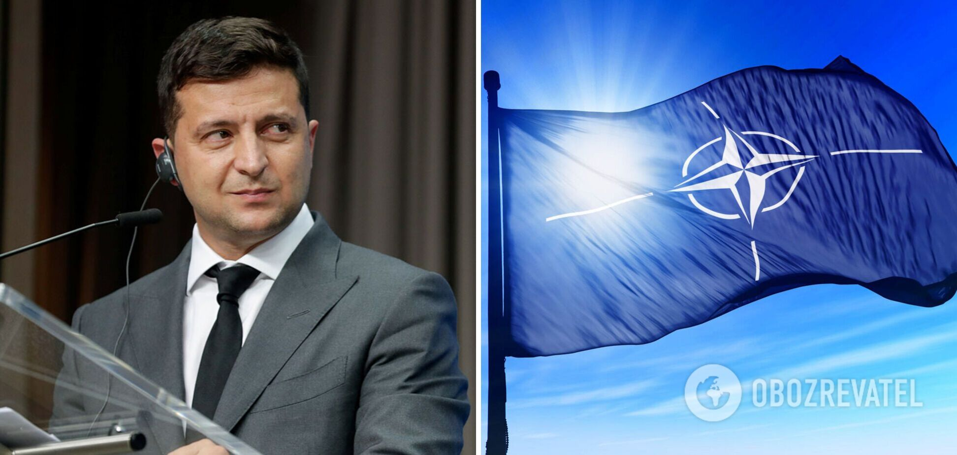 Зеленский: пришло время предложений Украине и Грузии по ПДЧ в НАТО