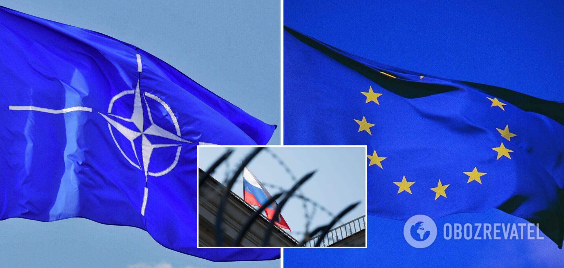 В НАТО и Евросоюзе поддержали санкции США против России