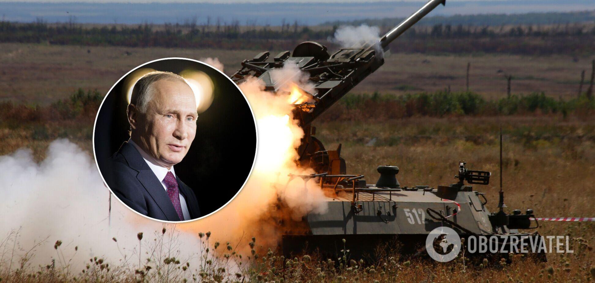 Гармаш: Путину в Украине нужна маленькая победоносная война, большого вторжения не будет
