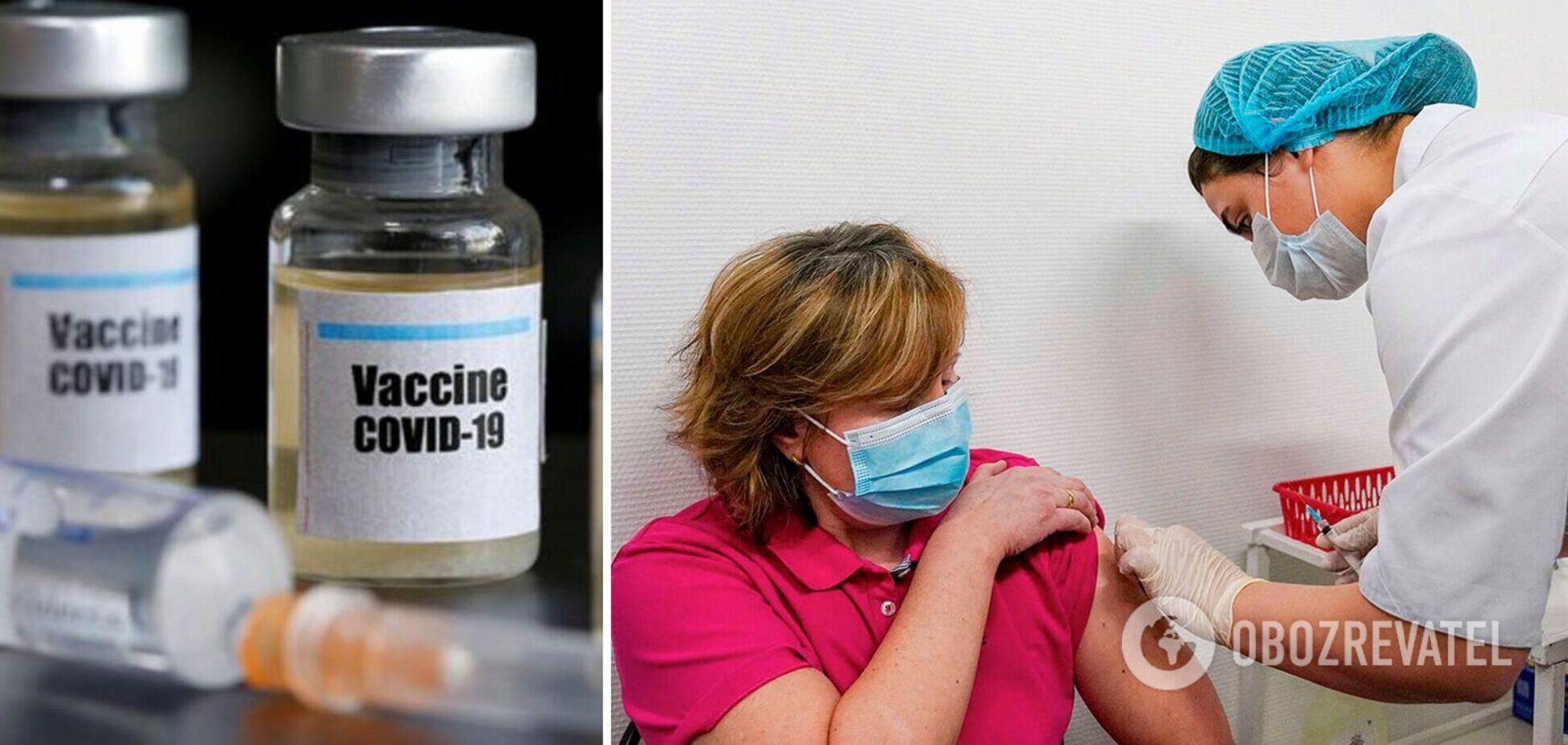 Прививки в Украине проходят согласно дорожной карте