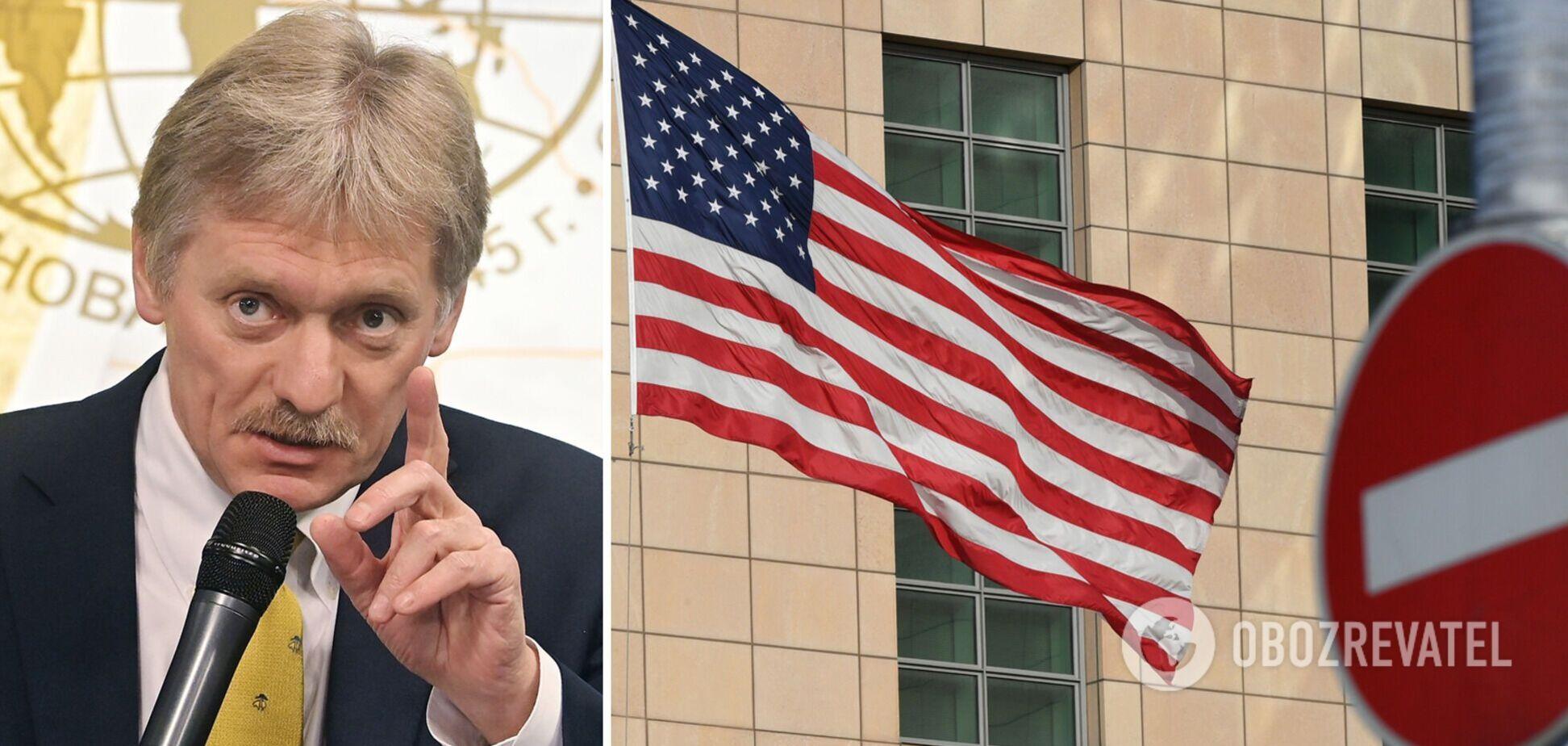 У Кремлі розповіли, якою буде відповідь Росії на нові санкції США
