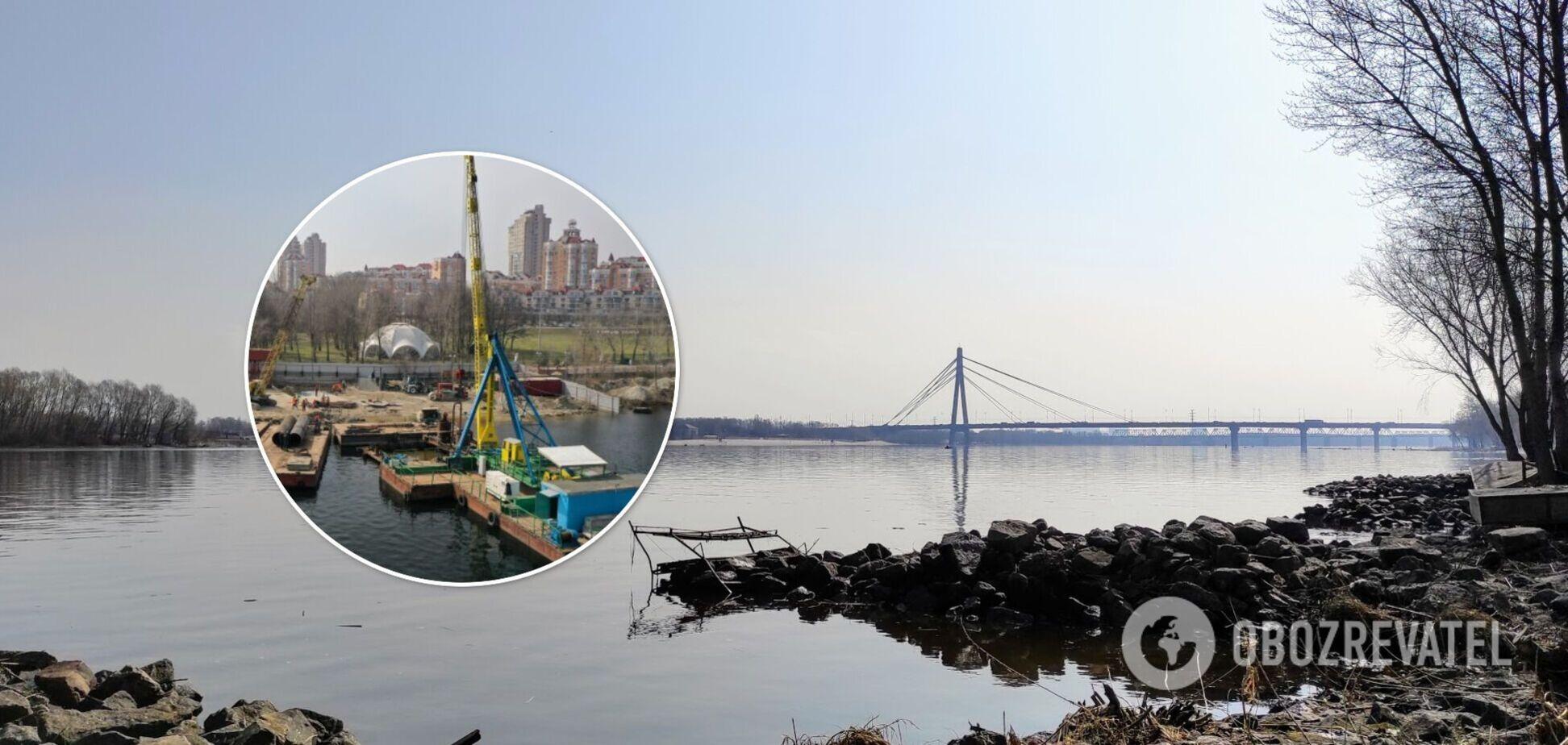 Причал, сквери, майданчики: у Києві створять нову локацію для відпочинку на острові посеред Дніпра
