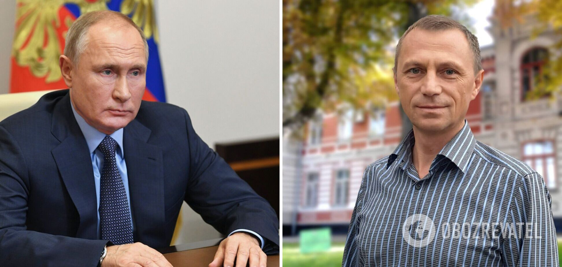 Тезка Путина в Украине рассказал, где работает и как в него стреляли