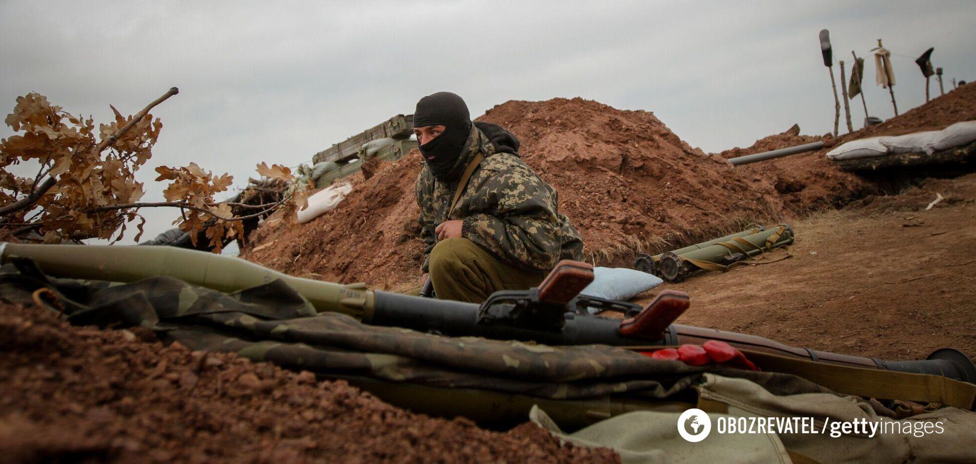 Оккупанты запустили беспилотник и укрепляли позиции на передовой – сводка ООС