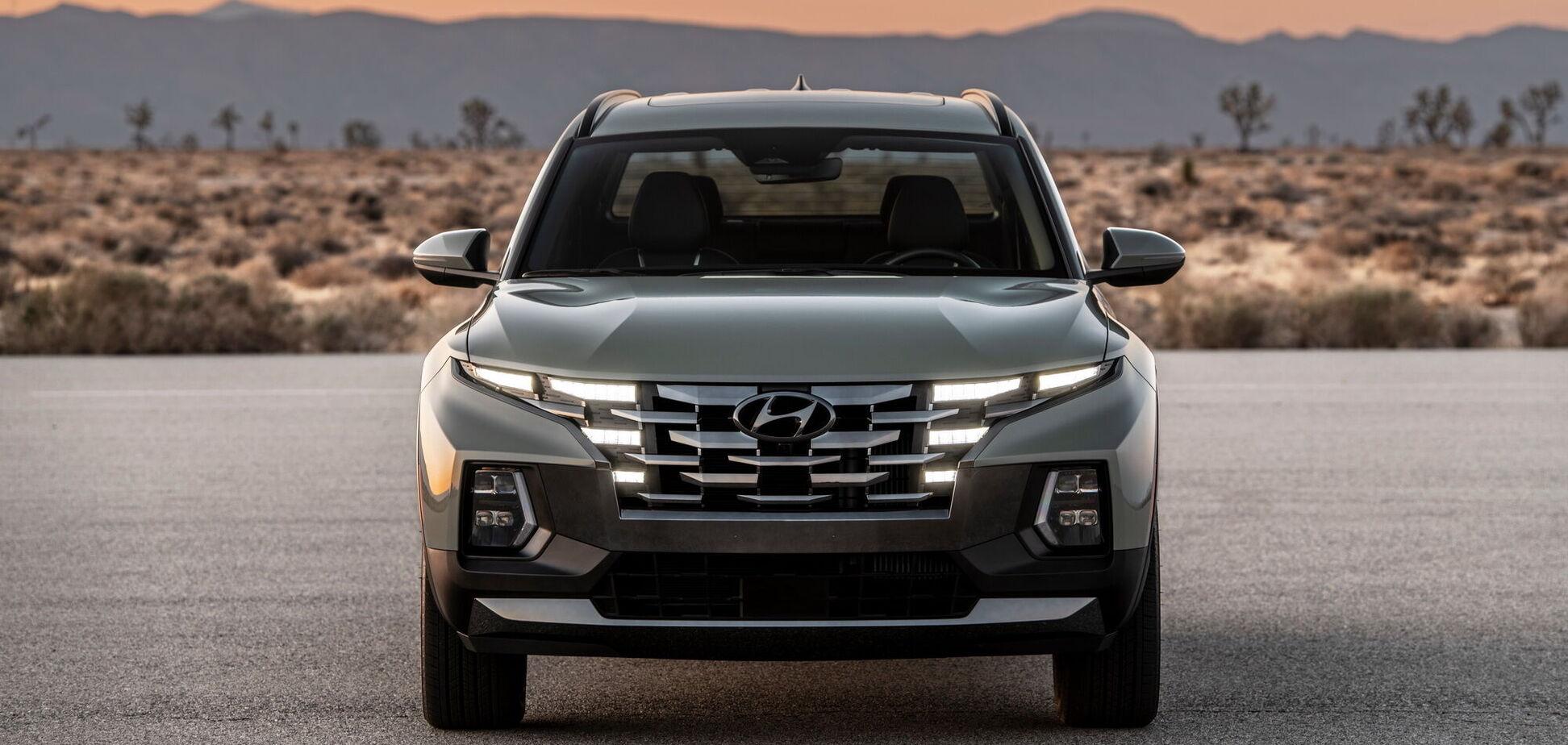 Hyundai вийшла на ринок пікапів з моделлю Santa Cruz
