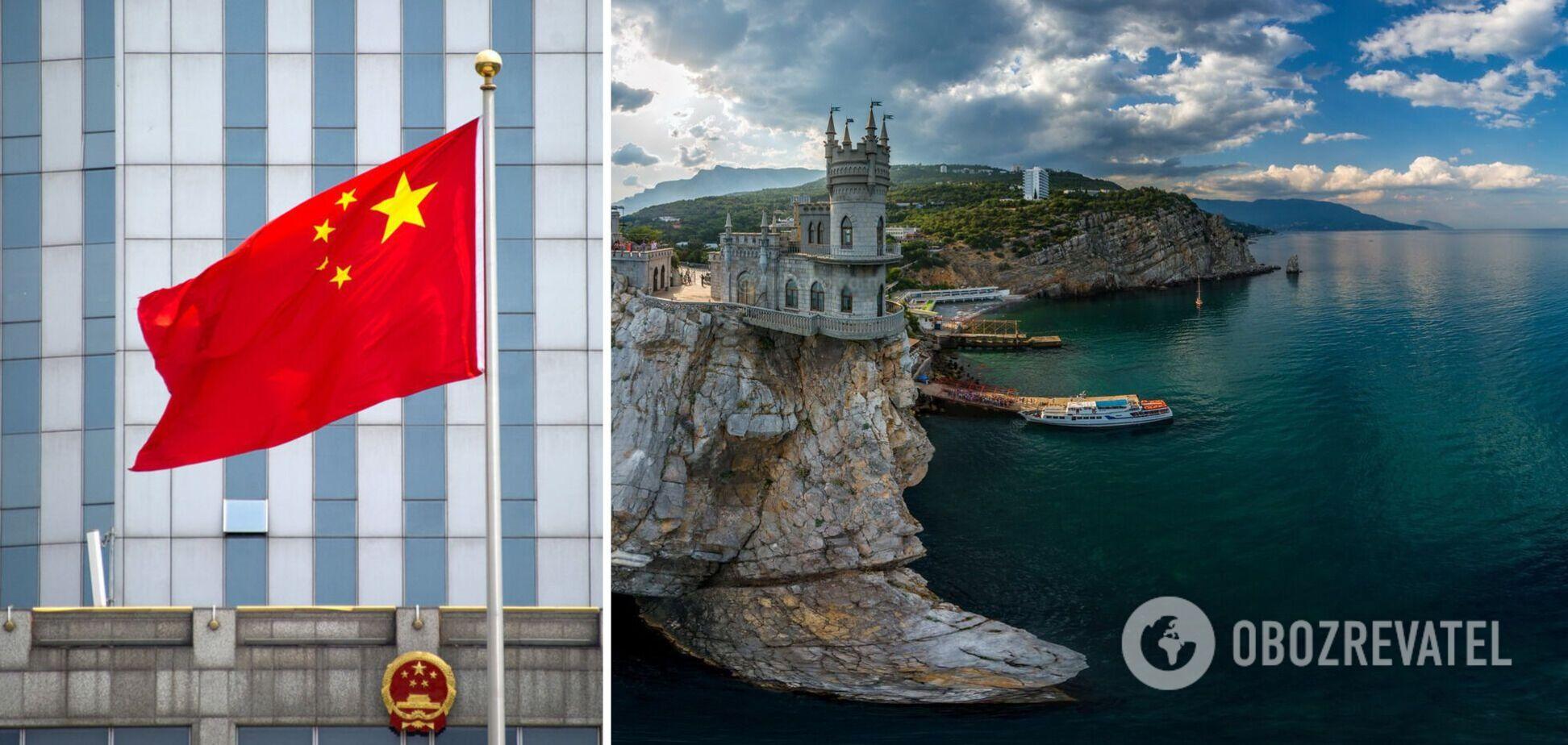 Китай заявив, що не визнає Крим російським