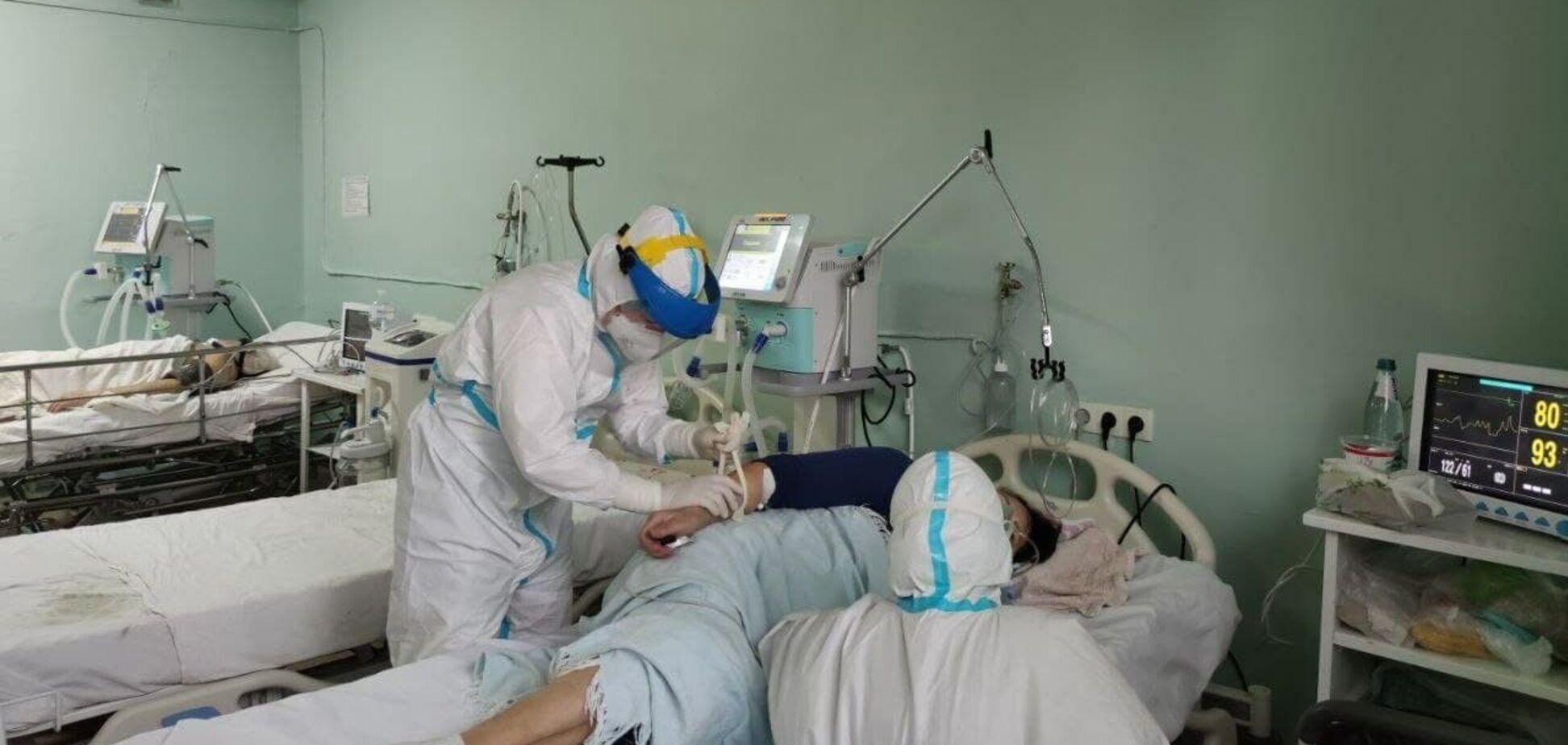 Лечение больных коронавирусом