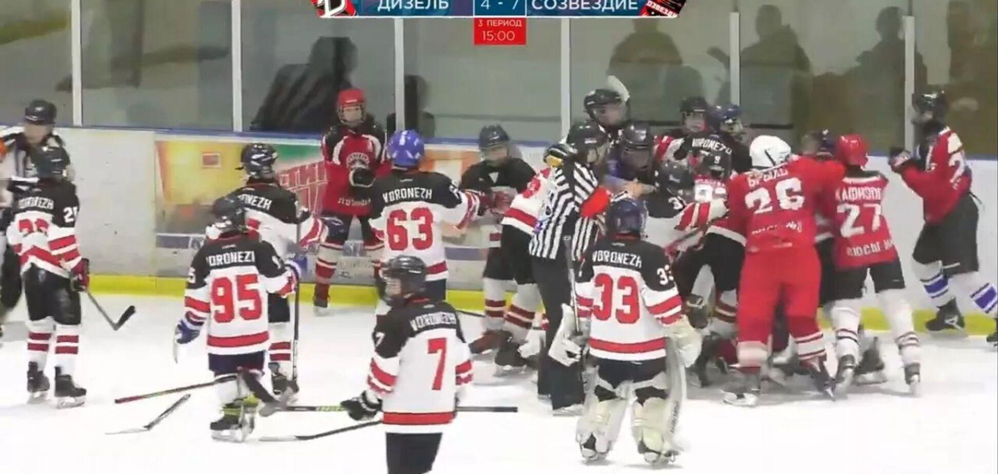 бійка хокеїстів