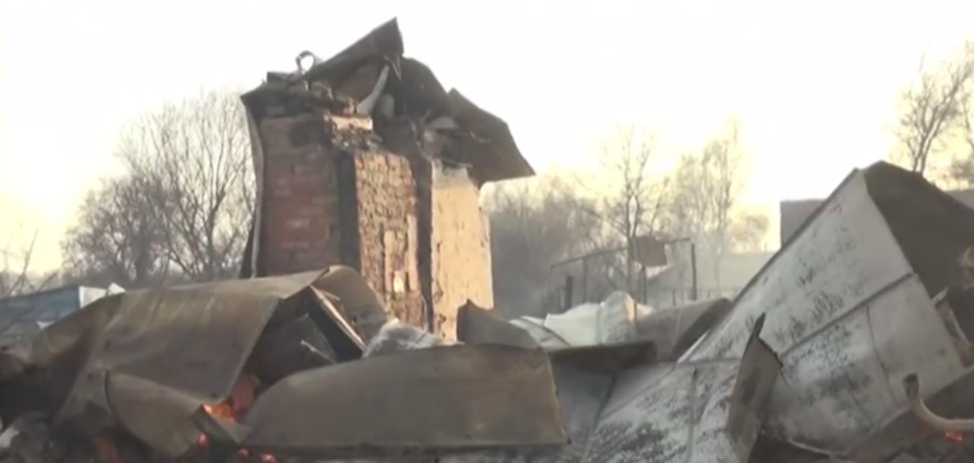 Пожежі у Росії