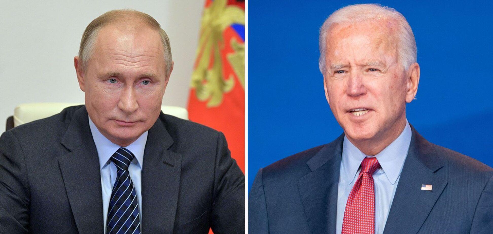 Джо Байден подзвонив Володимиру Путіну і запропонував зустріч в третій країні