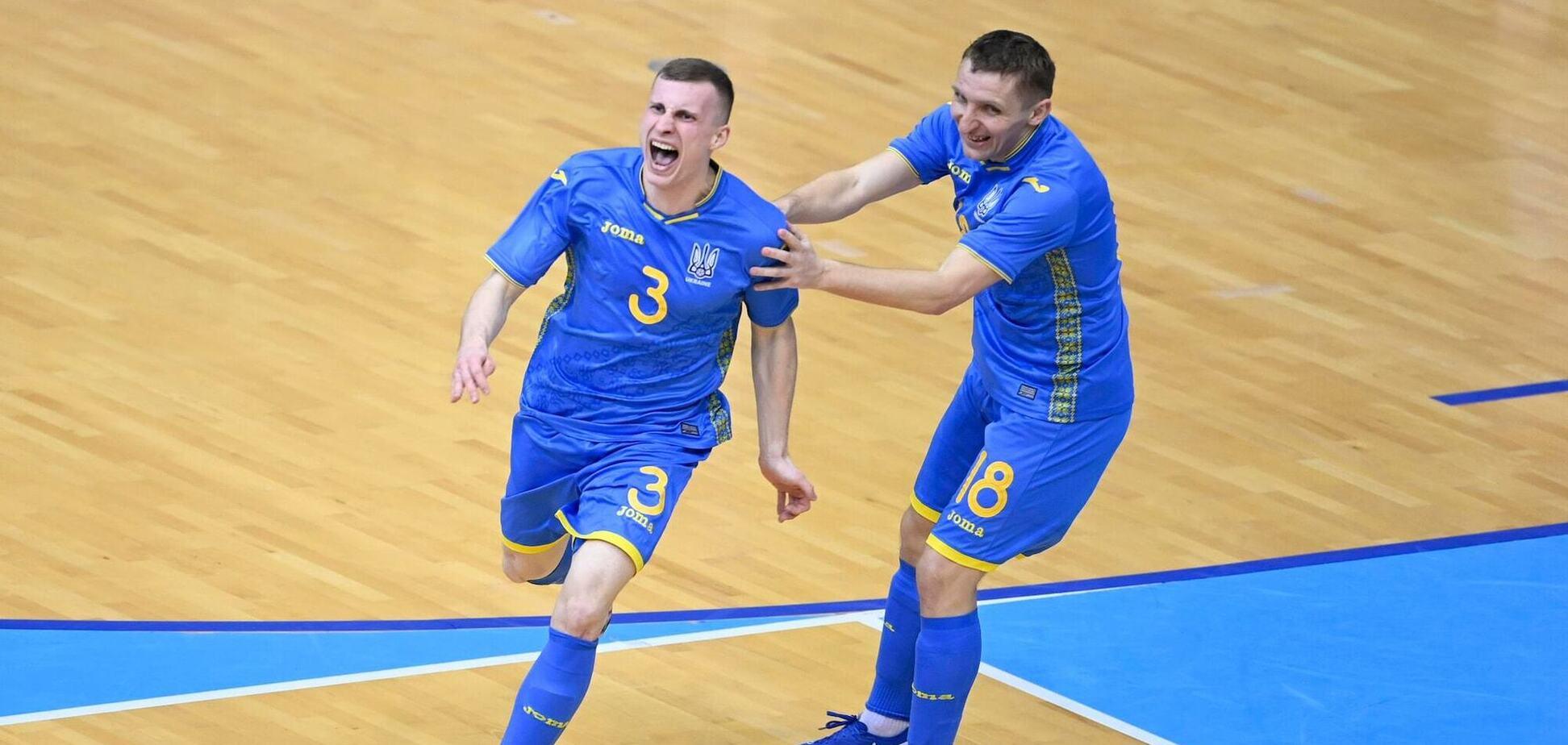 Радість гравців збірної України
