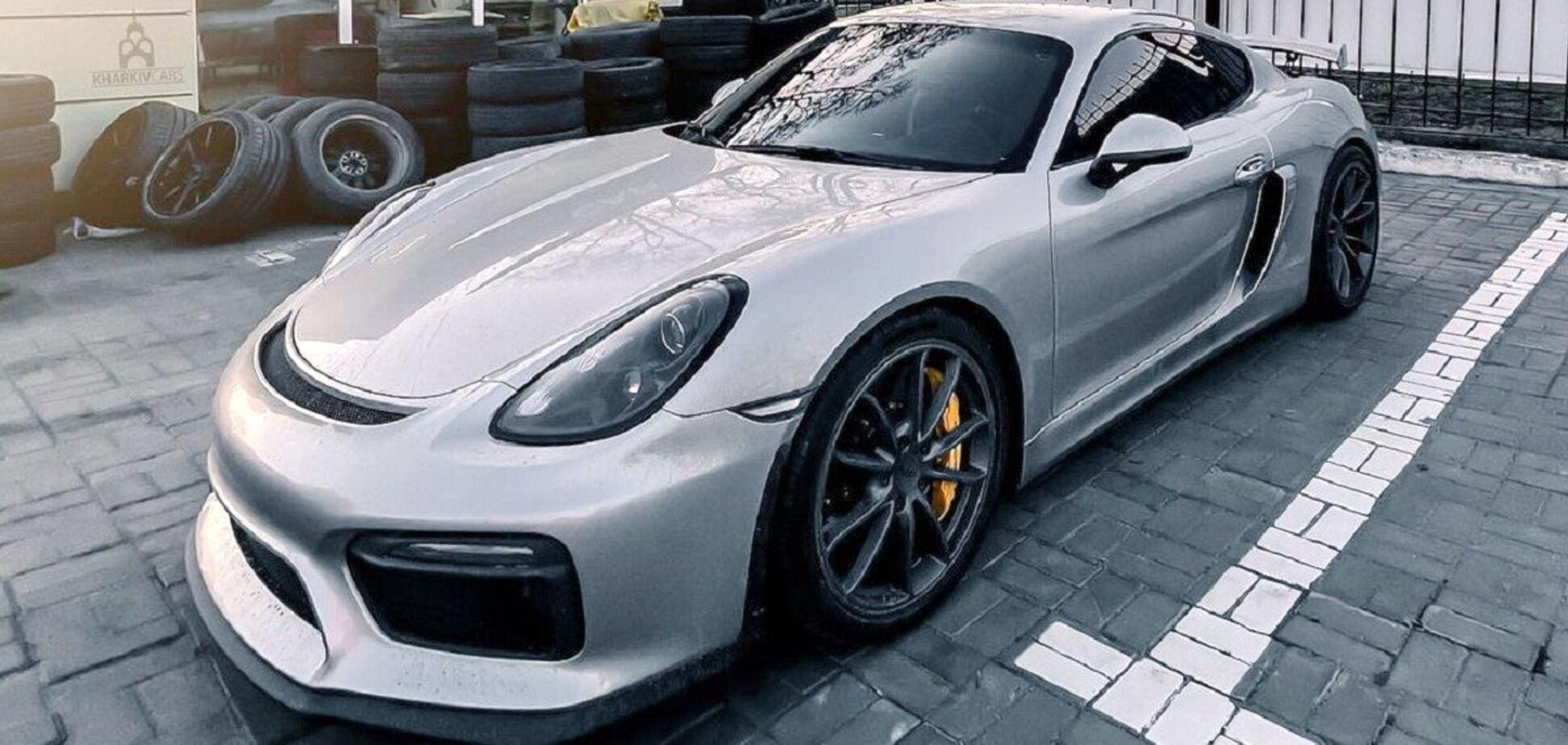 В Україні знайшли екстремальний спорткар Porsche