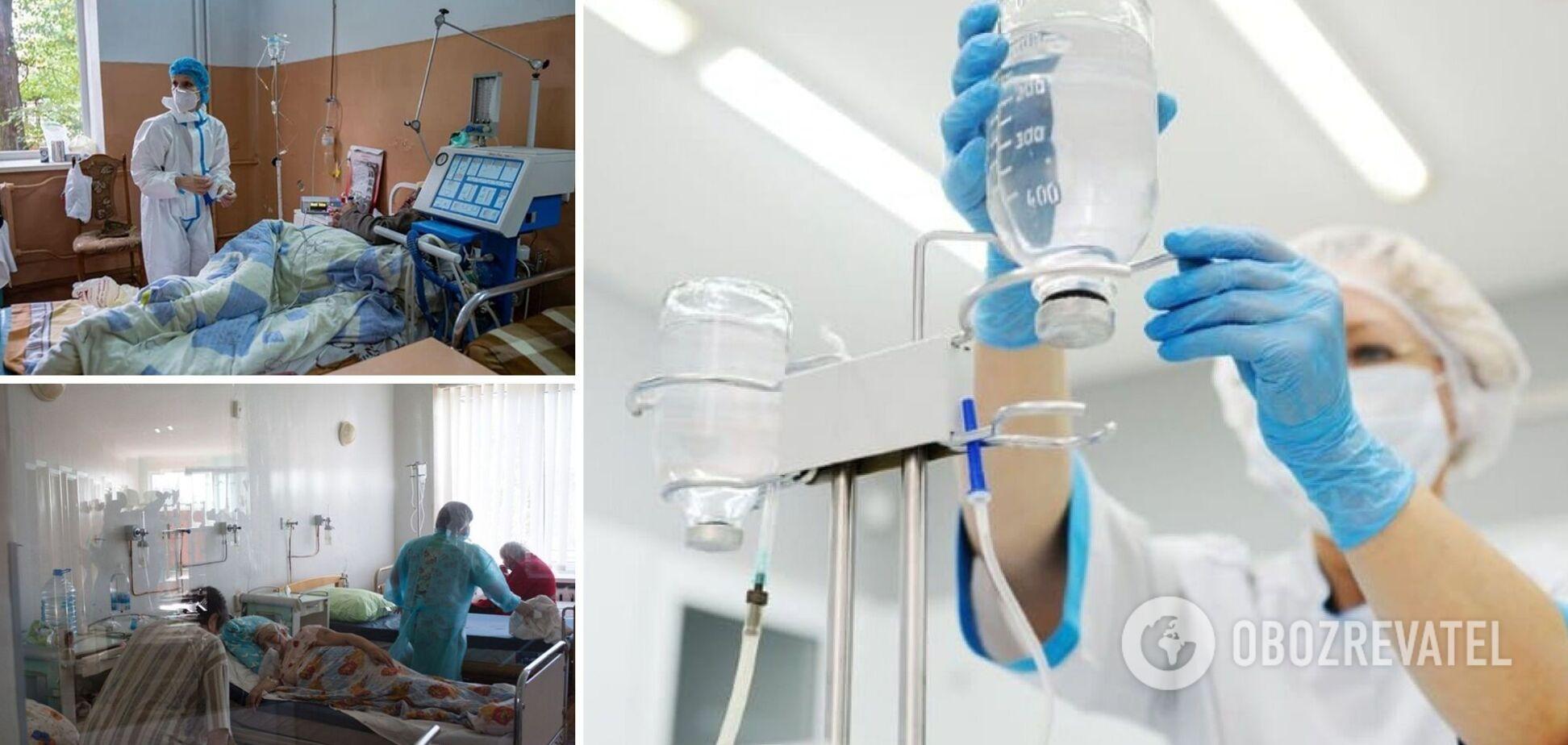 Медики валяться з ніг, а жителі скаржаться на 'червону' зону: як лікарні Полтавщини захлинулися від COVID-19