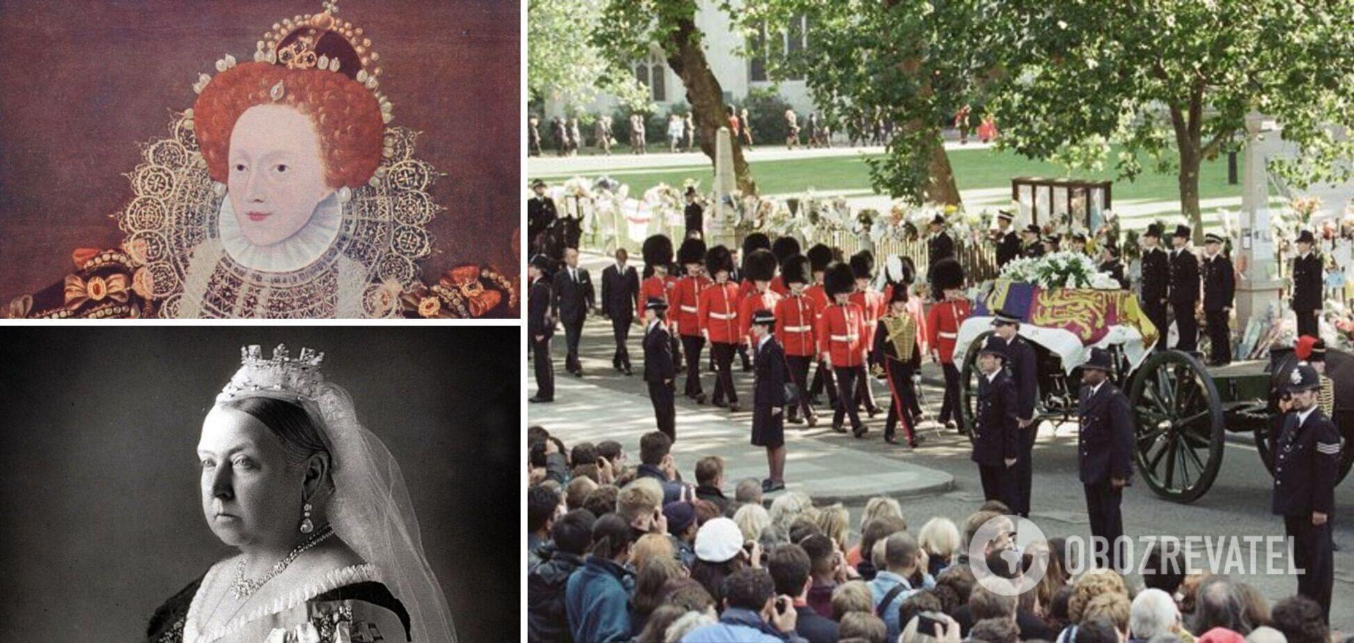 Опубліковано секрети королівських похоронів