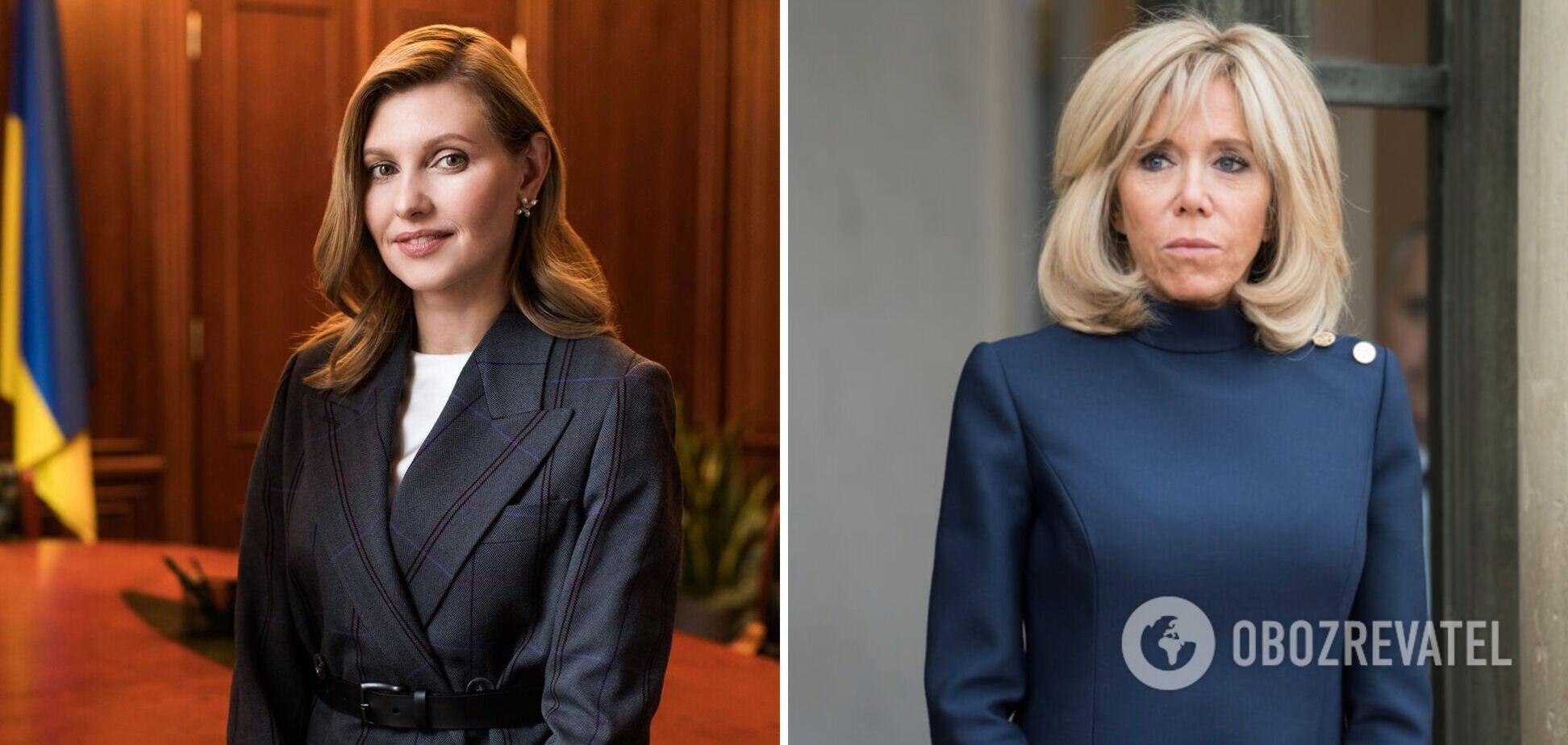 Зеленская и Макрон встретились в Париже: какие наряды выбрали и сколько они стоят