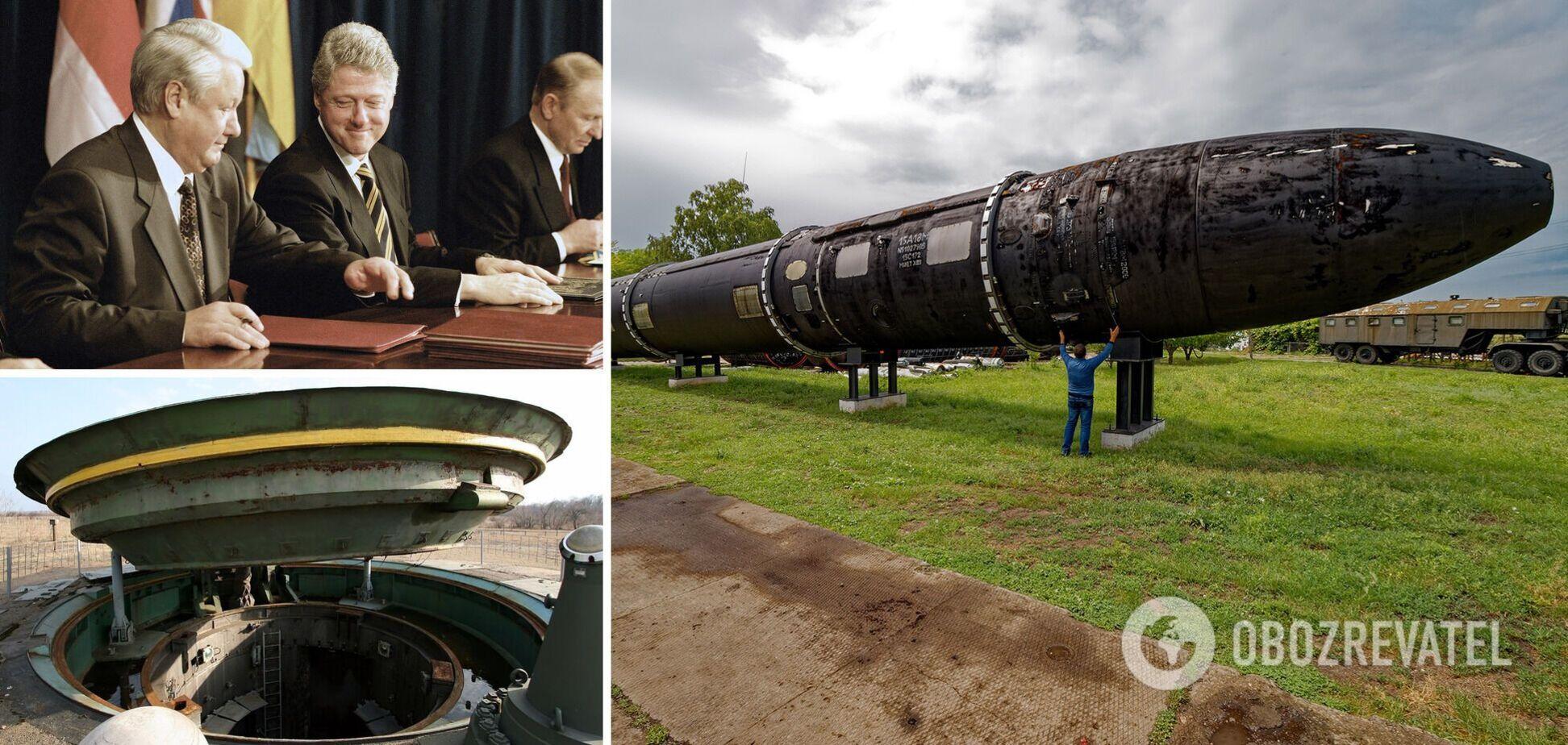 По состоянию на 1991 год Украина имела третий по величине ядерный арсенал мира