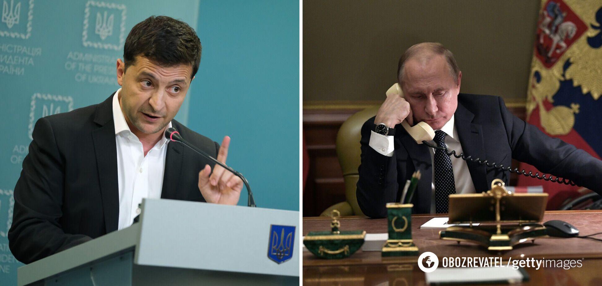 Зеленський: я подзвонив Путіну, але мені не відповіли