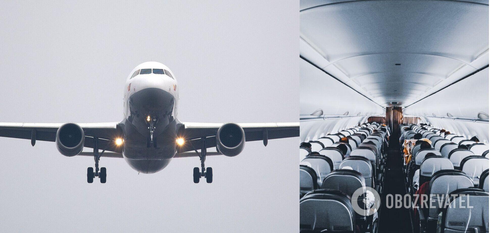 На борту літака часто трапляються різні кумедні історії