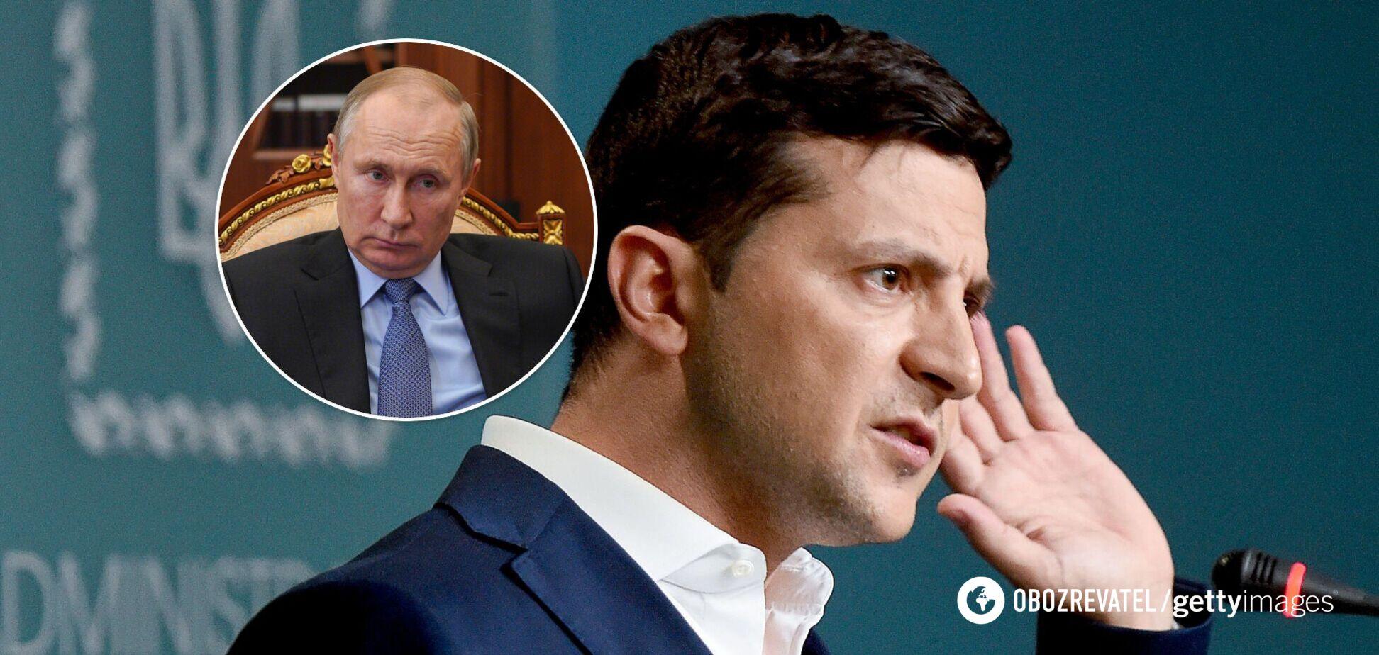 Зеленский: не думаю, что Путин ожидал такого президента Украины