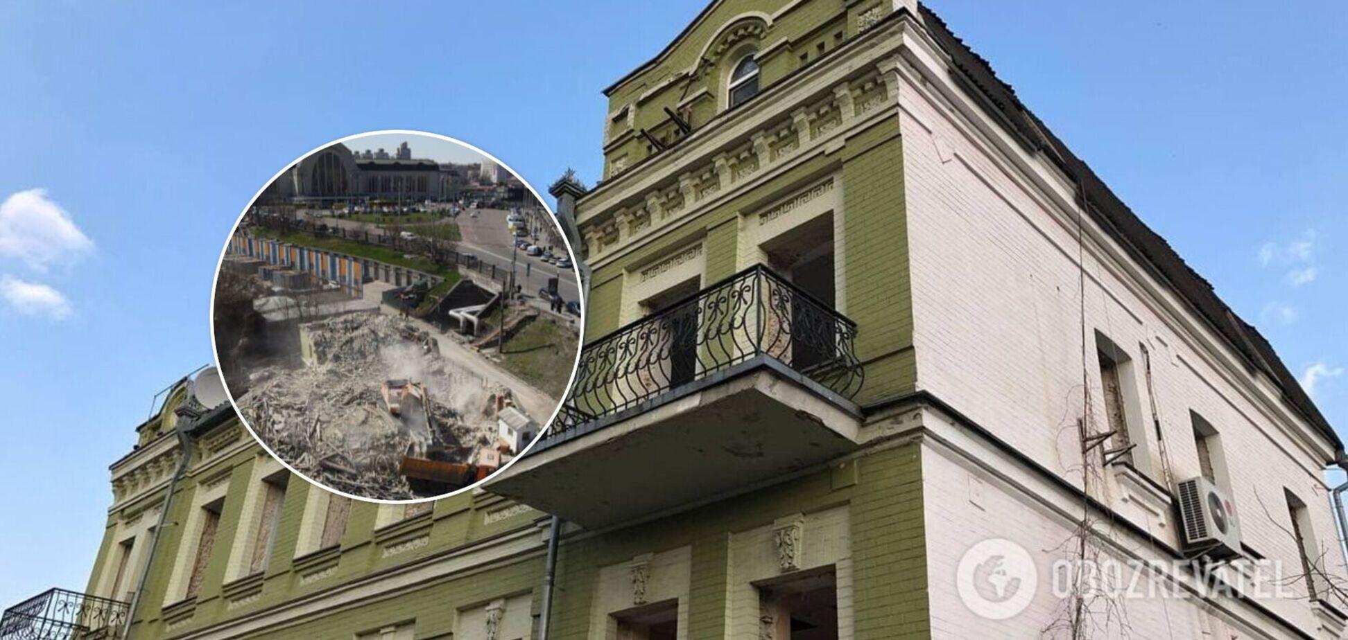 Особняк Уткіна в Києві знищила компанія, яку оформили на 26-річну співачку: хто хоче спорудити хмарочос