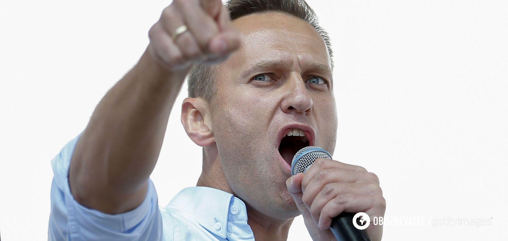 Опозиційний російський політик Олексій Навальний